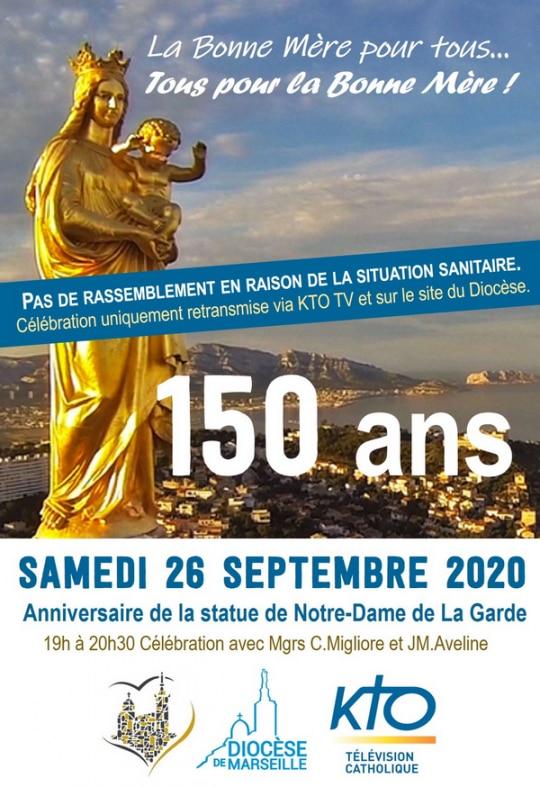 150 ans Notre-Dame de la Garde