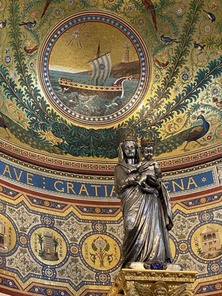 Notre-Dame de la Garde Intérieur