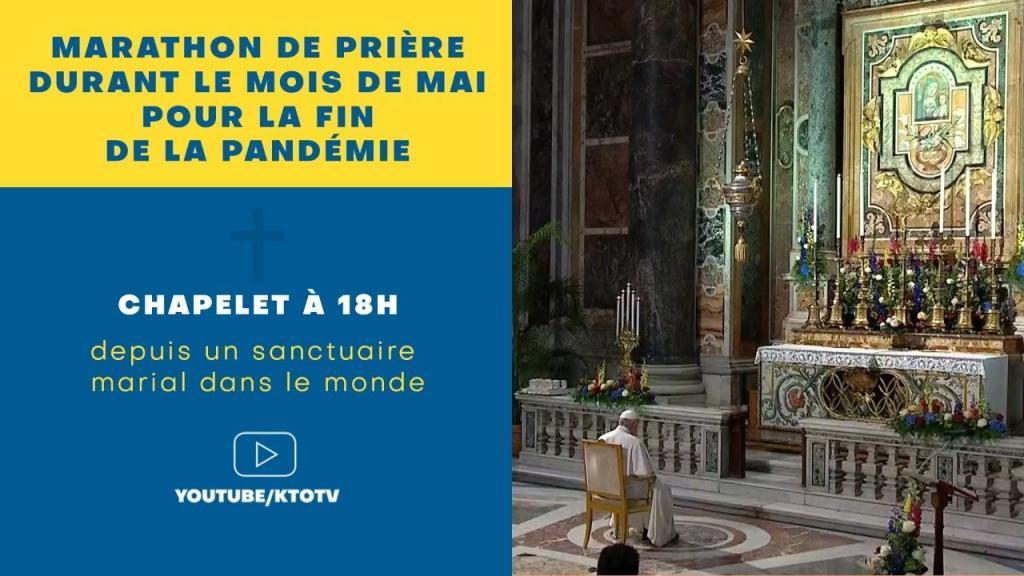Marathon de prière : ND du Rosaire de Pompéi en Italie - dimanche 30 mai