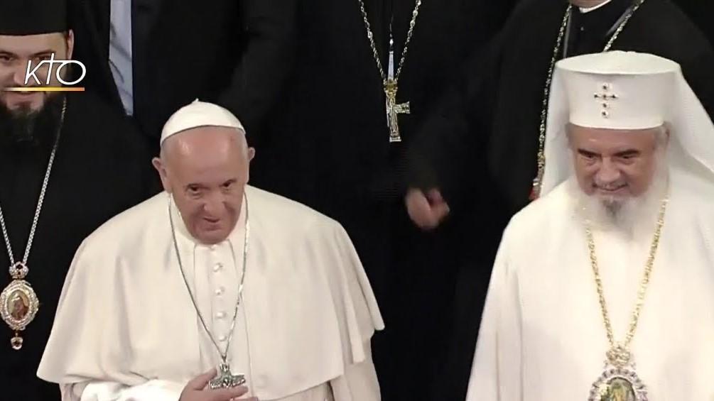 Le Pape François en Roumanie