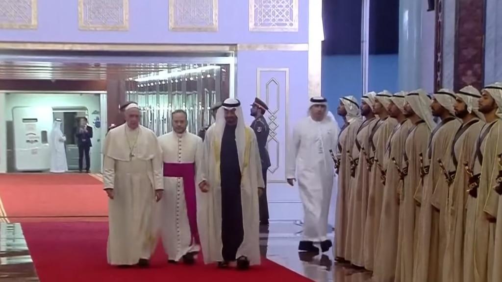 Le Pape François aux Emirats arabes unis