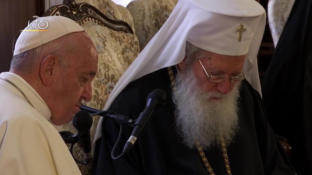 Le Pape François en Bulgarie