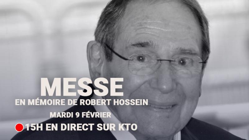 Messe en mémoire de Robert Hossein