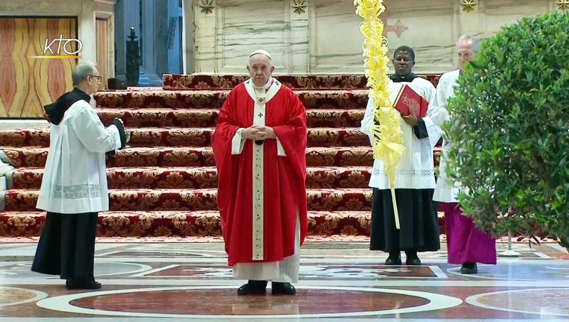 Suivez la messe des Rameaux sur KTO