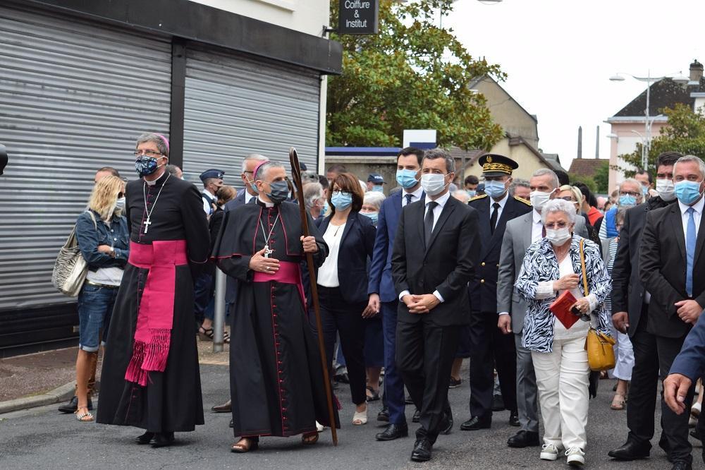 Procession Père Hamel